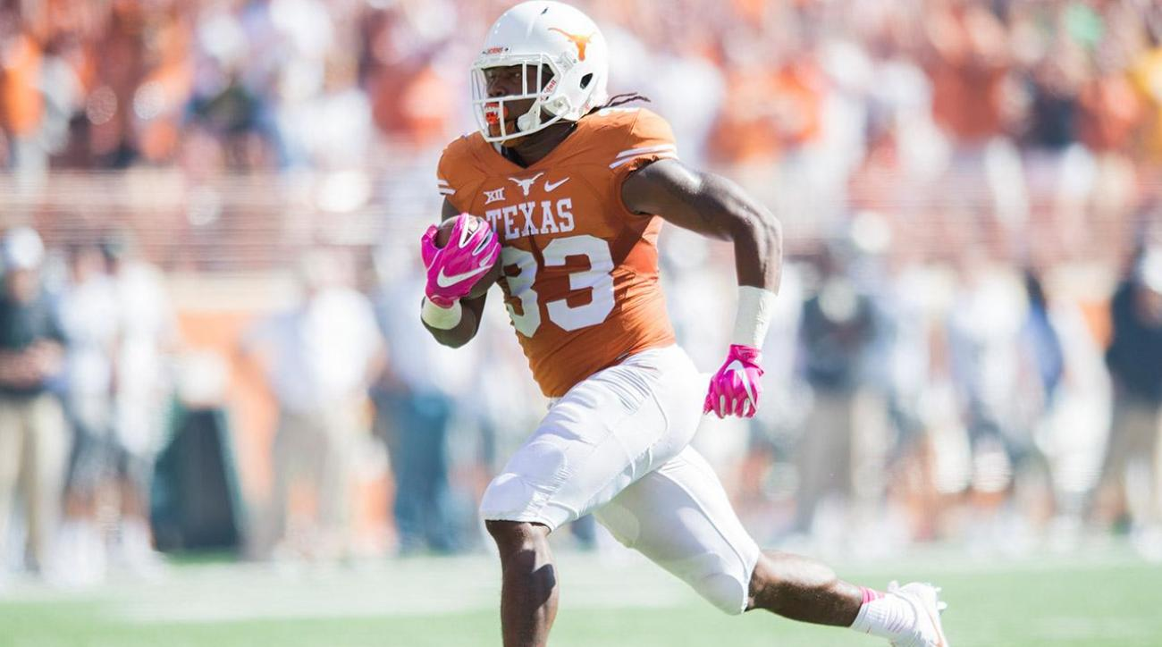 Texas RB D'Onta Foreman to declare for the NFL draft IMAGE