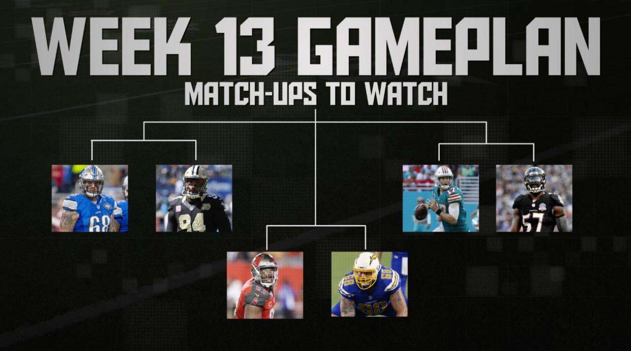 NFL's Week 13 Gameplan