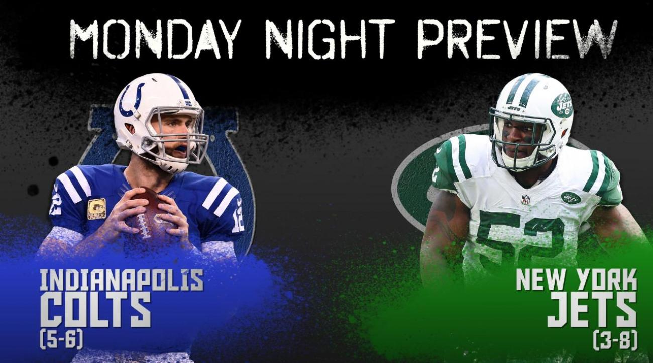 Monday Night preview: Colts vs. Jets