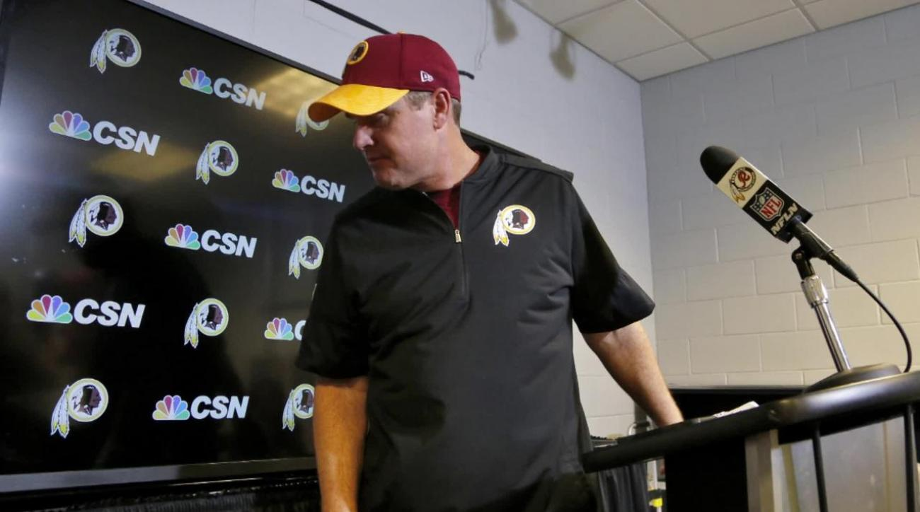 Redskins coach Jay Gruden rips players after loss to Cardinals IMAGE