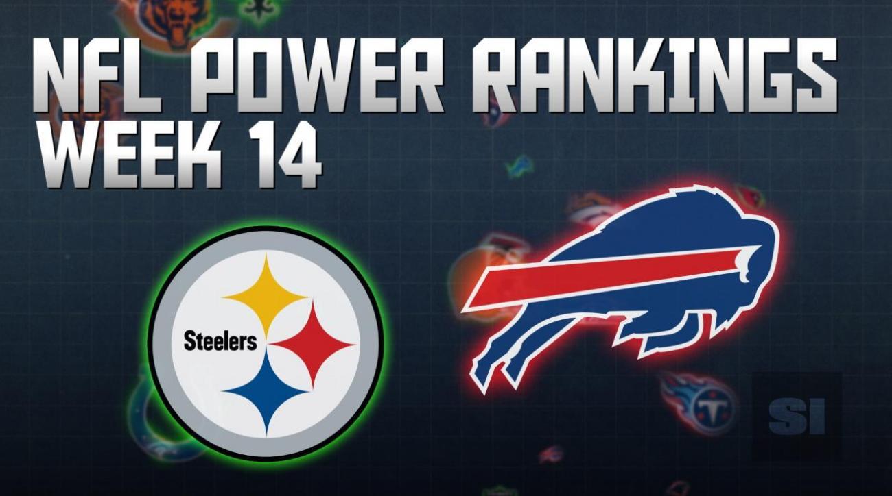 NFL Power Rankings: Week 14