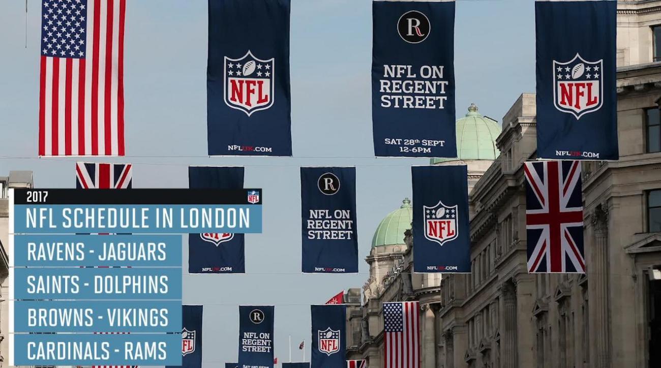 NFL announces 2017 London schedule