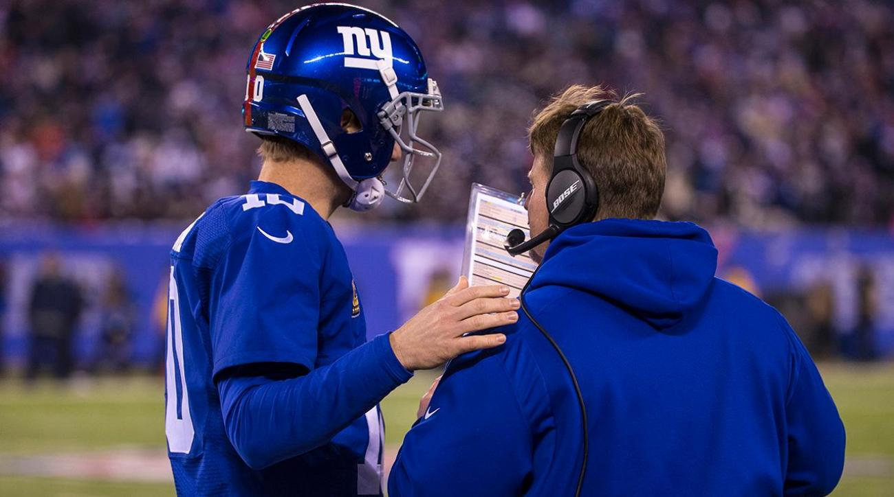 NFL investigating Giants for use of walkie-talkies IMAGE