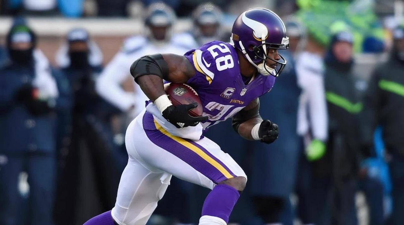 Vikings' Adrian Peterson to play on Sunday vs. Colts