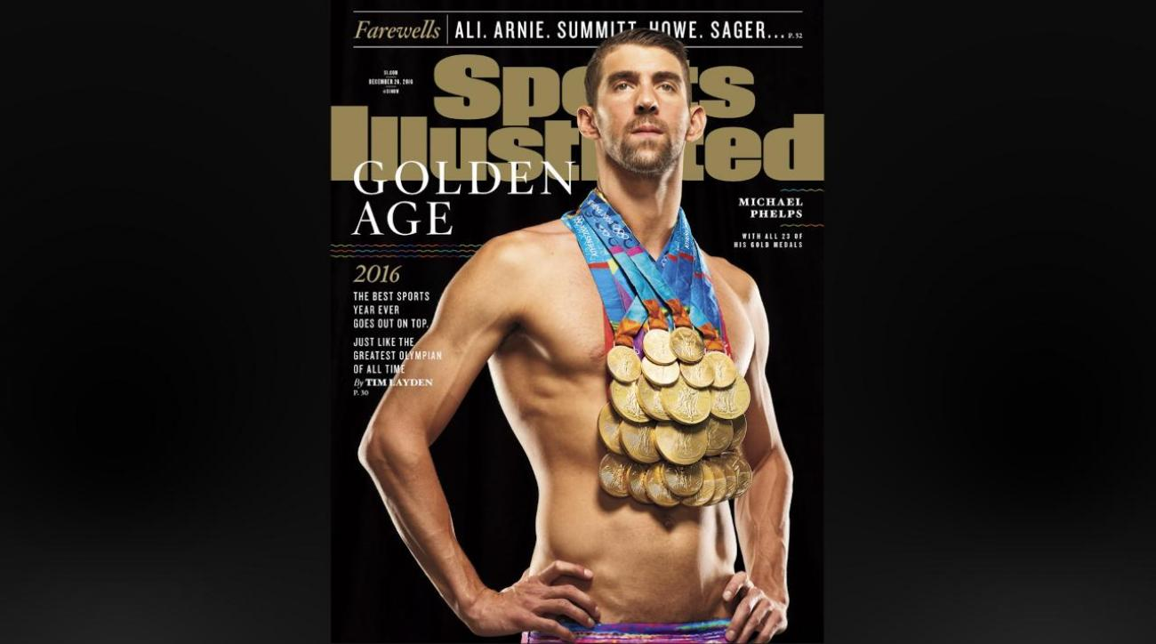 VIDEO - Michael Phelps on SI cover with 23 gold medals   SI.com