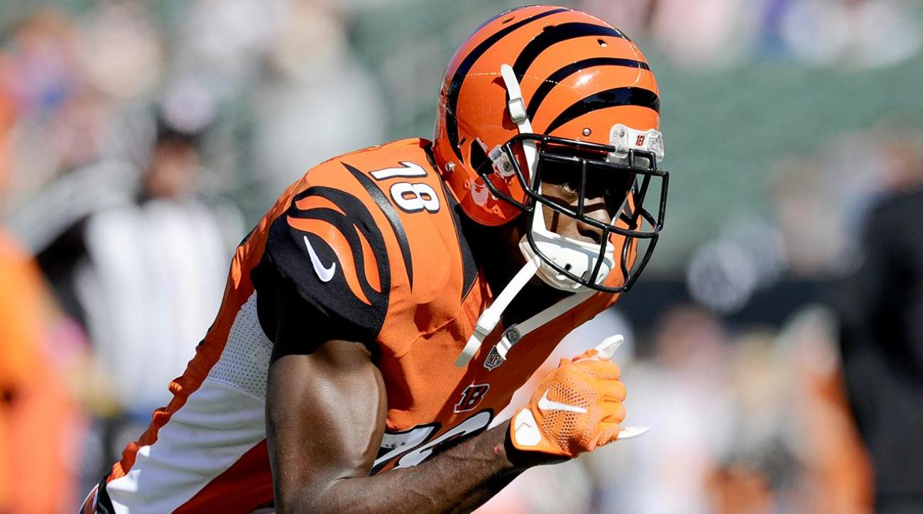 Bengals WR A.J. Green says he will play Saturday vs. Texans