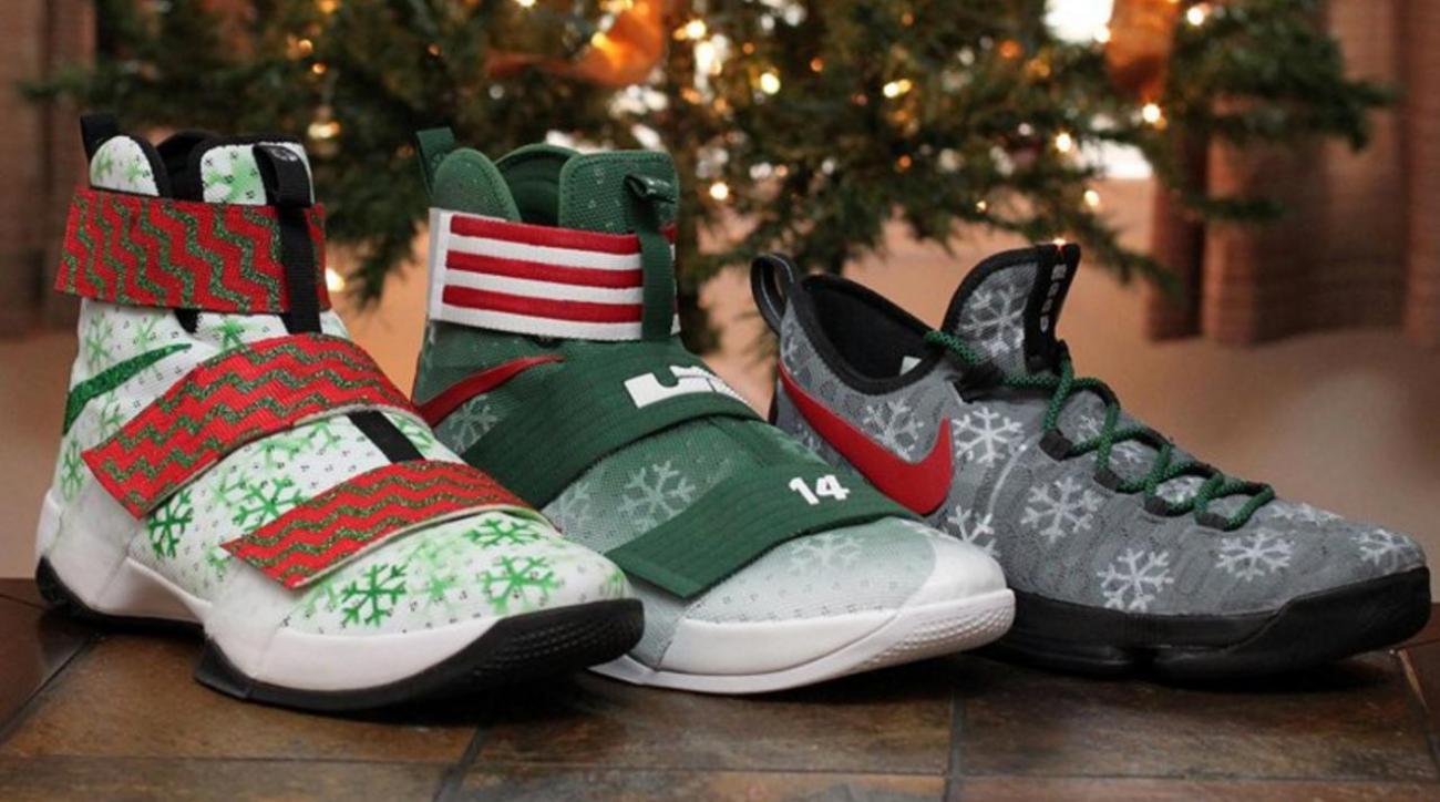 NBA stars debut Christmas Day shoes   SI.com