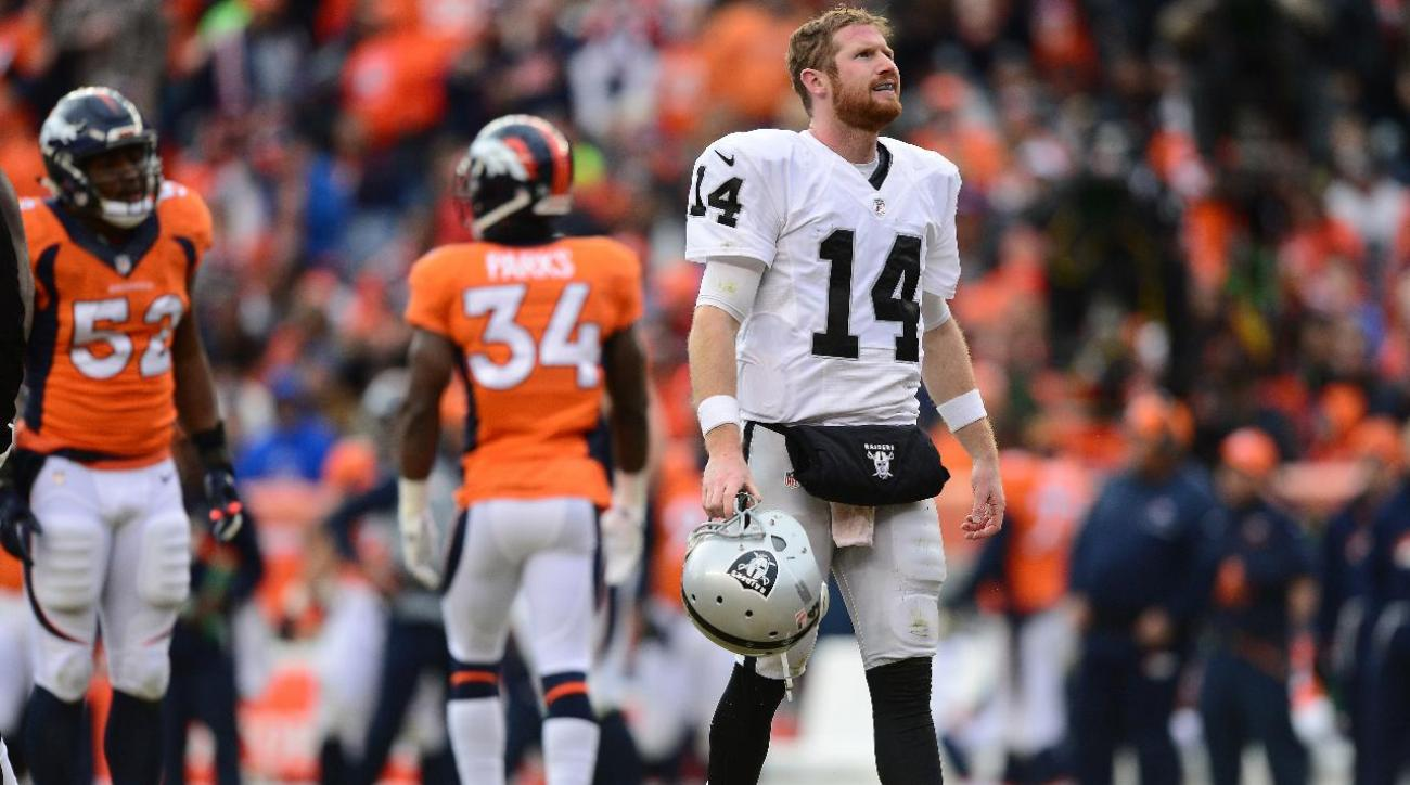 Raiders QB Matt McGloin injured, Connor Cook makes NFL debut