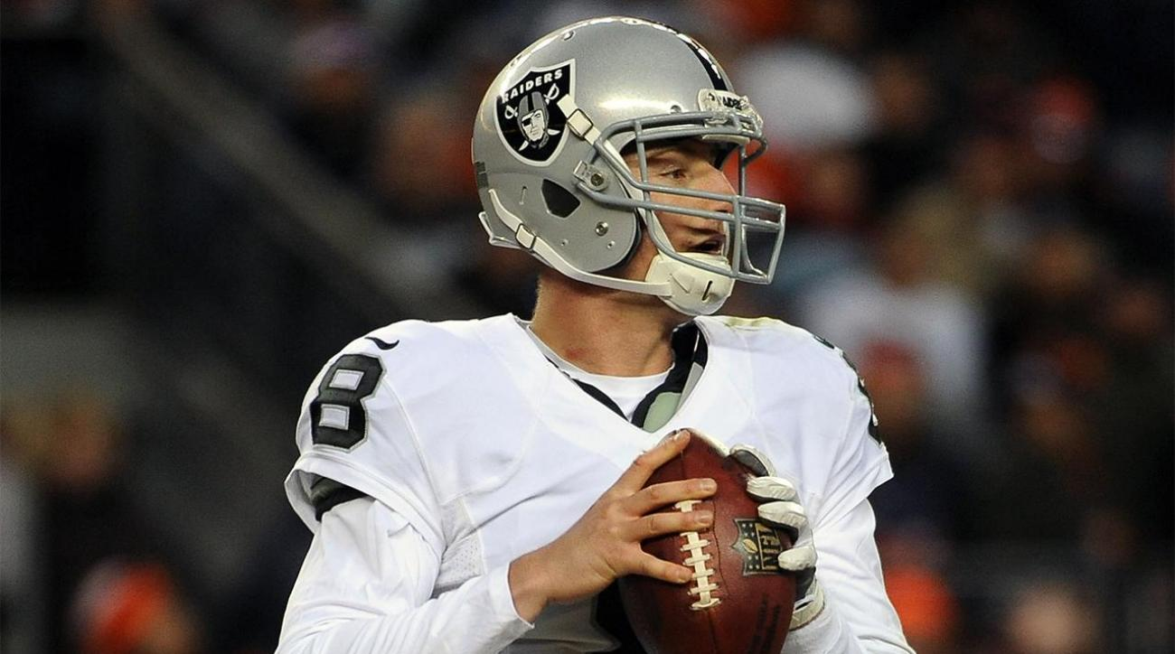 Report: Raiders' Connor Cook expected to start Saturday vs. Texans