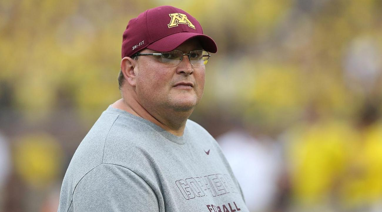 Report: Tracy Claeys fired as Minnesota football head coach