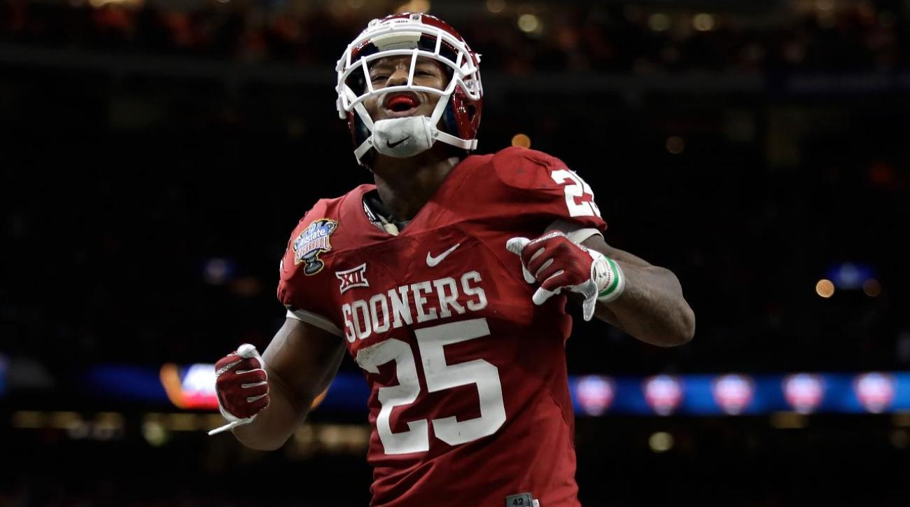 new product e99fc bb254 Reports: Oklahoma RB Joe Mixon declaring for NFL draft