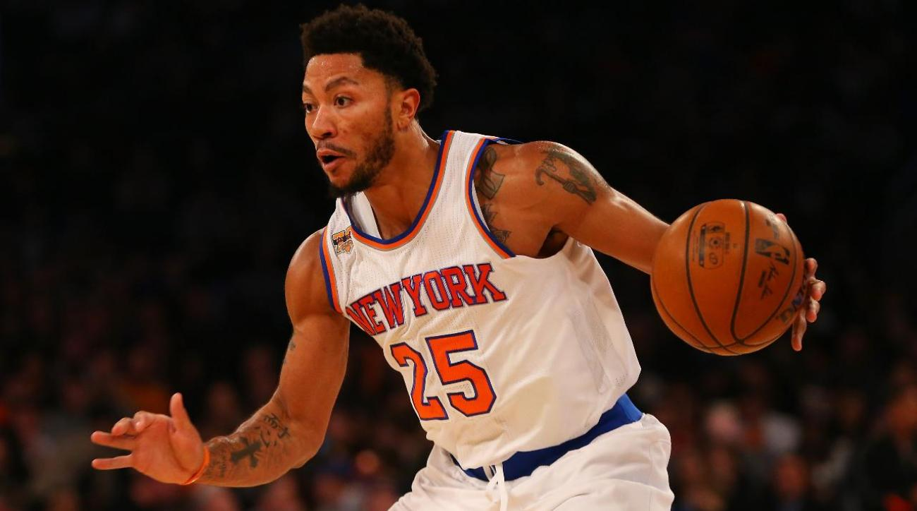 Report: Knicks don't know why Derrick Rose missed Monday's game