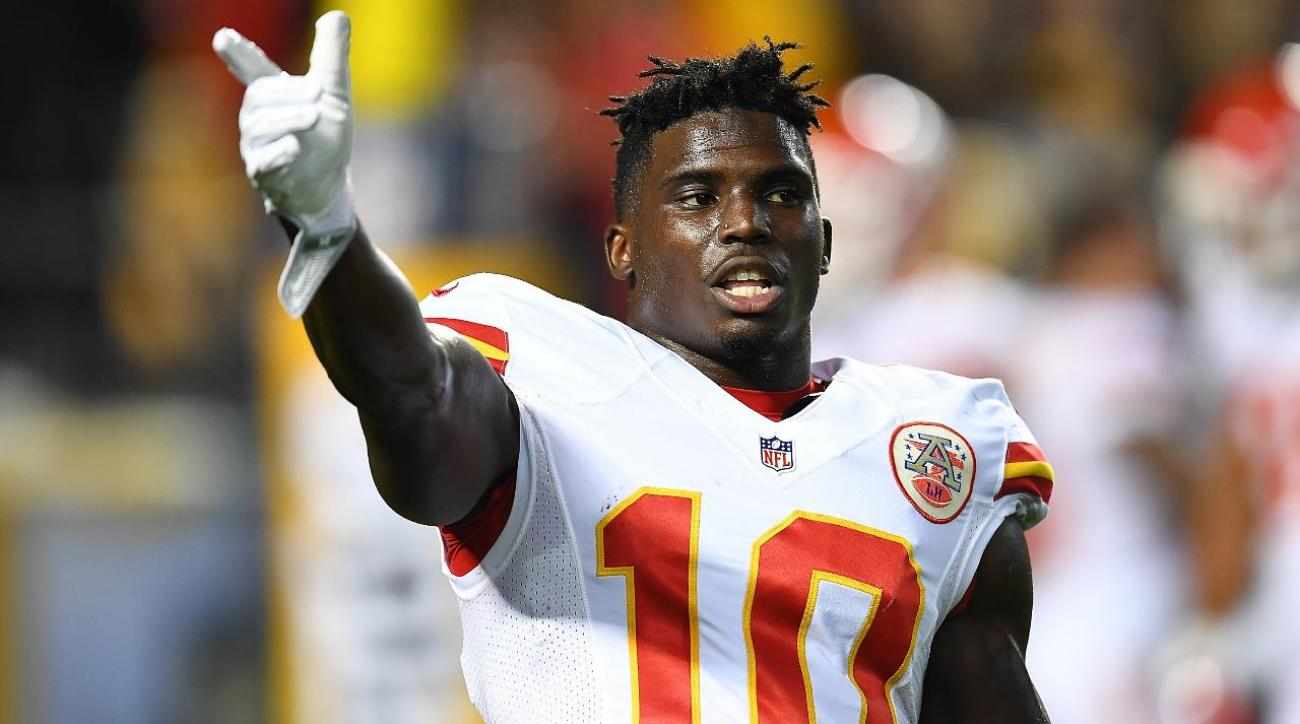 Should Chiefs fans feel bad rooting for domestic abuser Tyreek