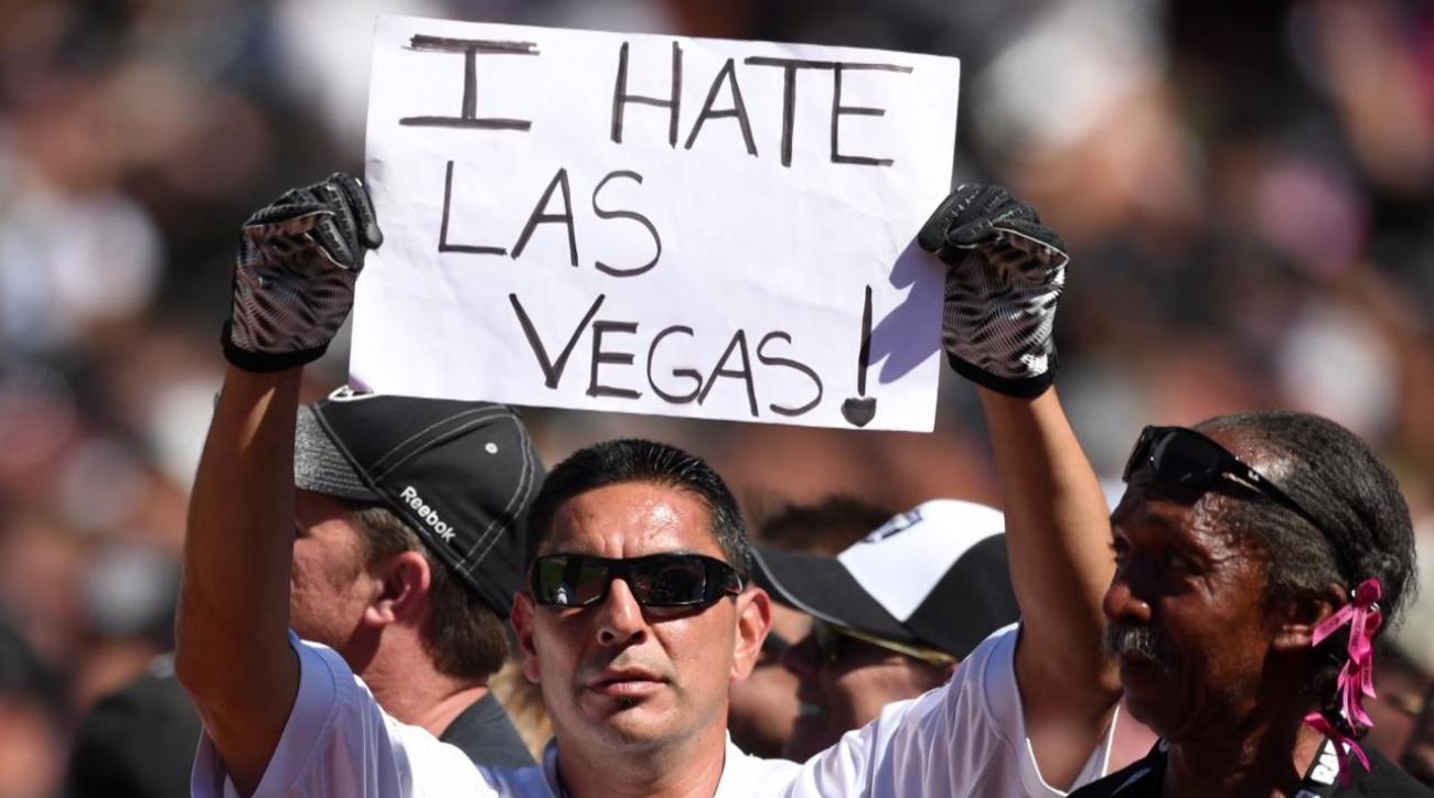 Raiders file paperwork to move to Las Vegas