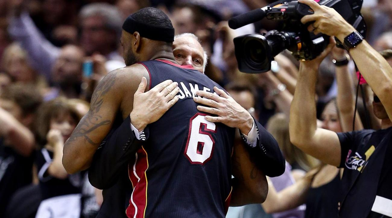 LeBron James: Gregg Popovich is greatest NBA coach of all-time