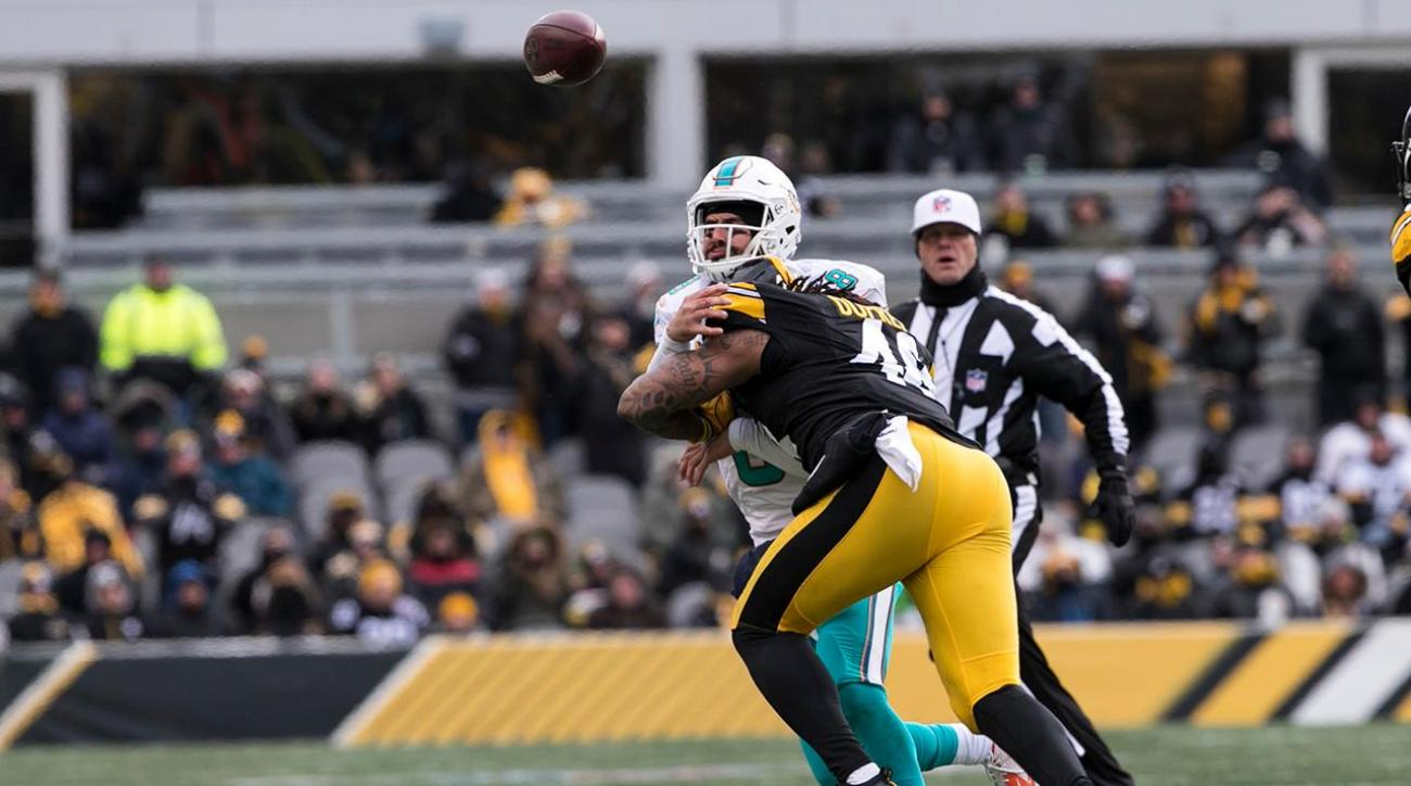 Dolphins did not follow concussion protocol with Matt Moore vs. Steelers