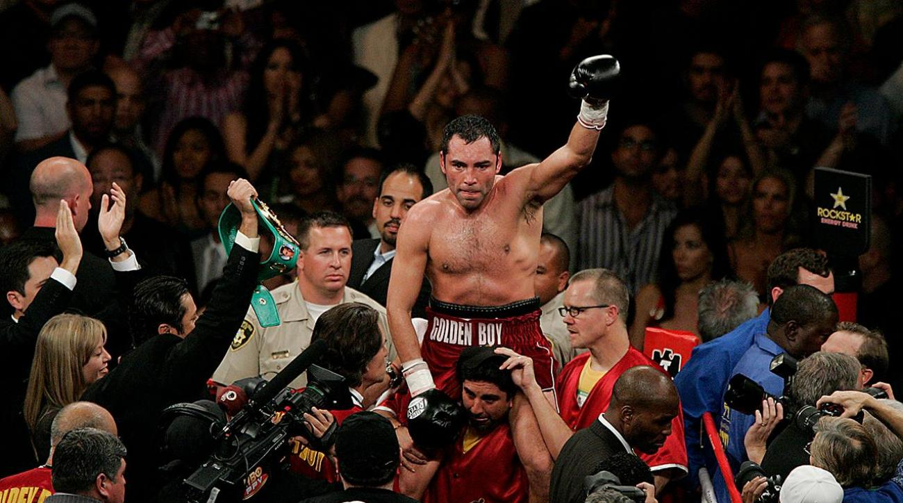 Oscar De La Hoya arrested for DUI in California
