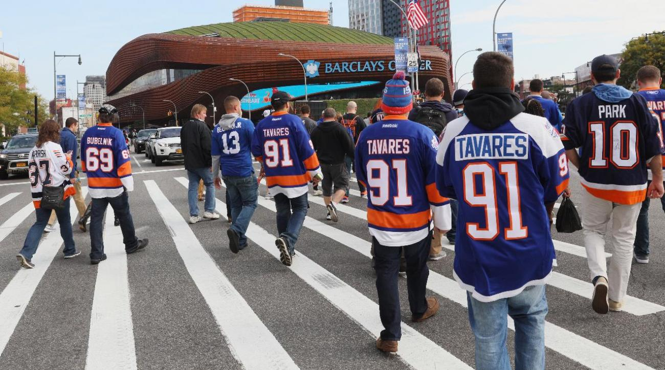 Report: Barclays Center will no longer be home to New York Islanders