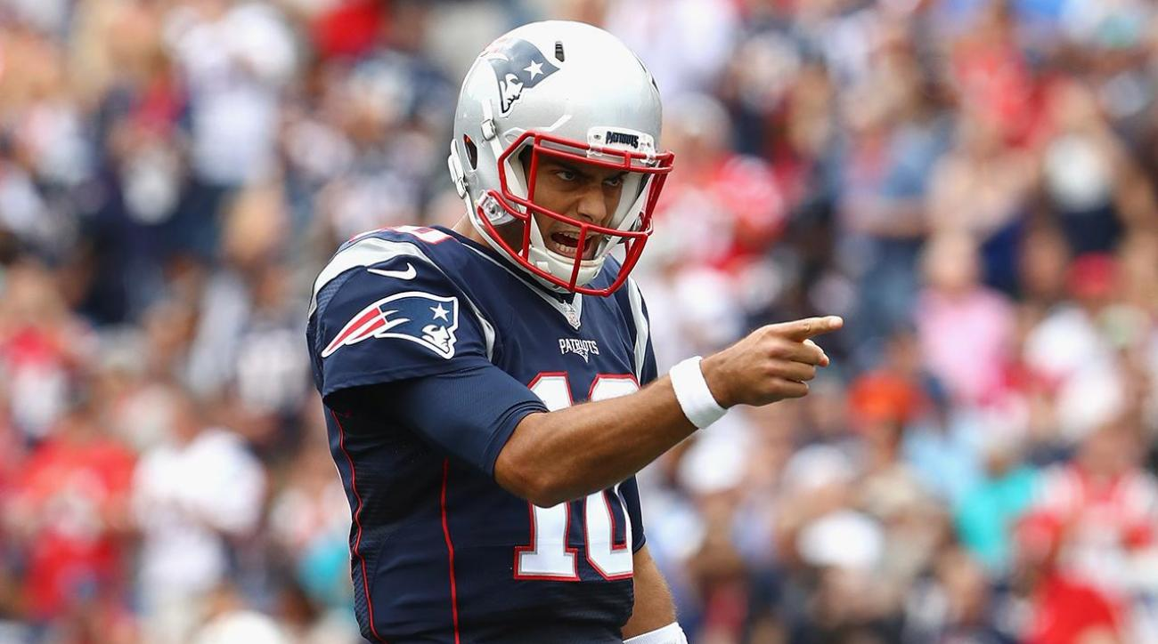 Report: Browns interested in trading for Patriots backup QB Jimmy Garoppolo