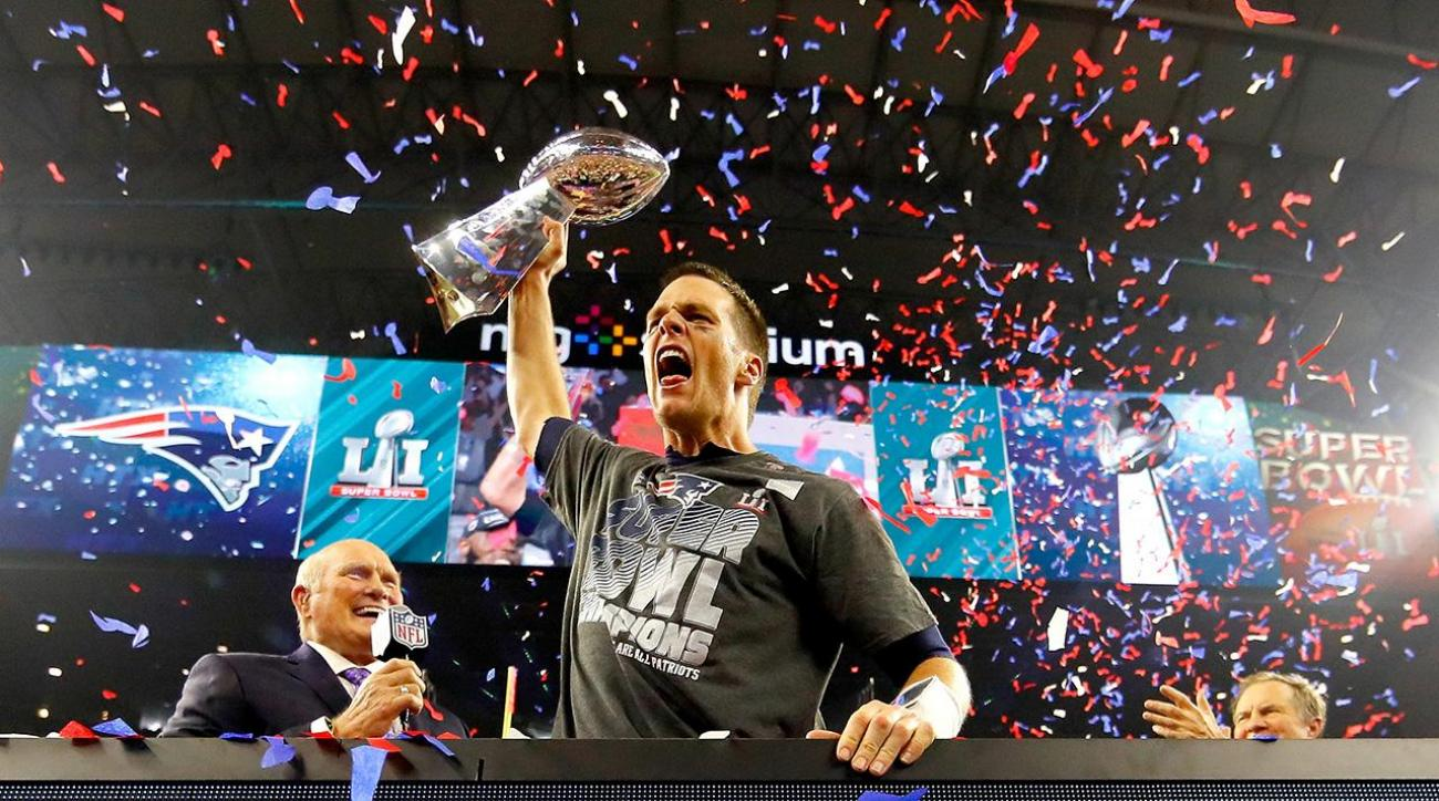 Patriots win Super Bowl LI 34-28 in overtime