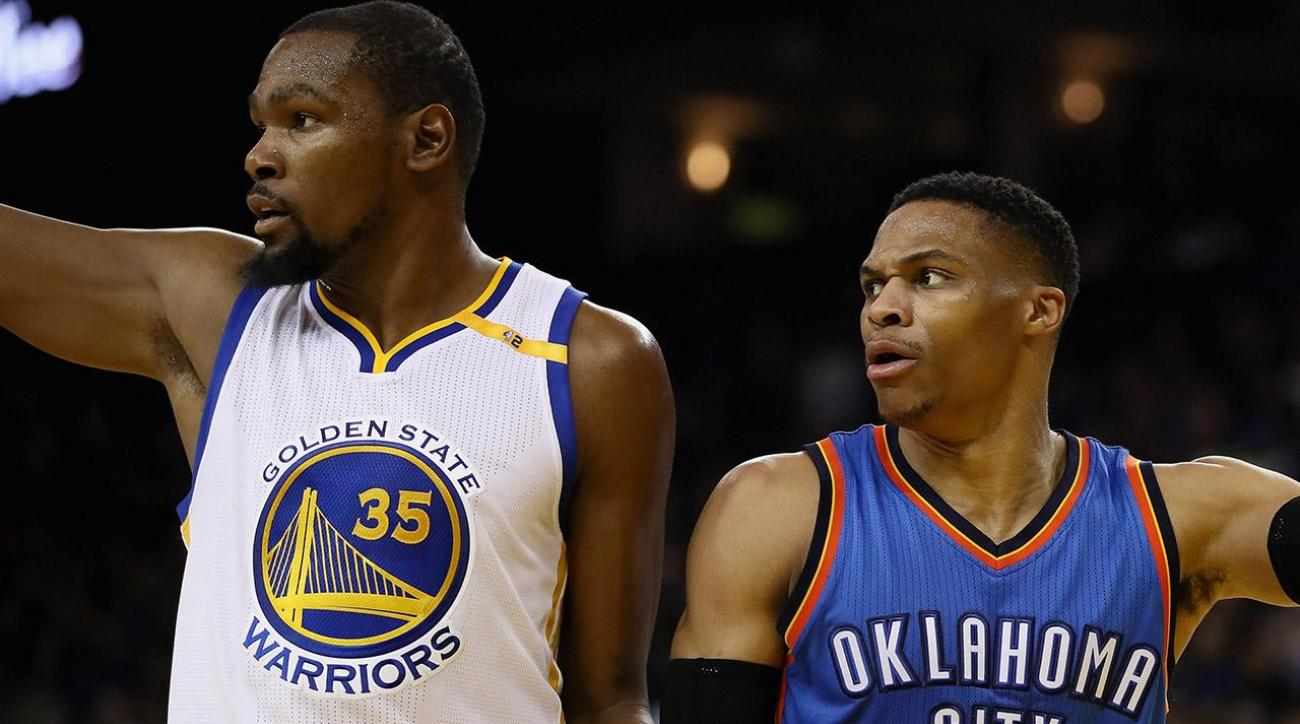 Kevin Durant: Perceived feud with Russell Westbrook is 'fake drama'