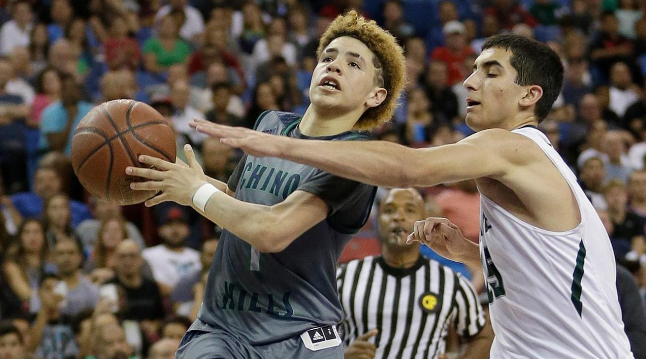 High school sophomore LaMelo Ball scored 92 points