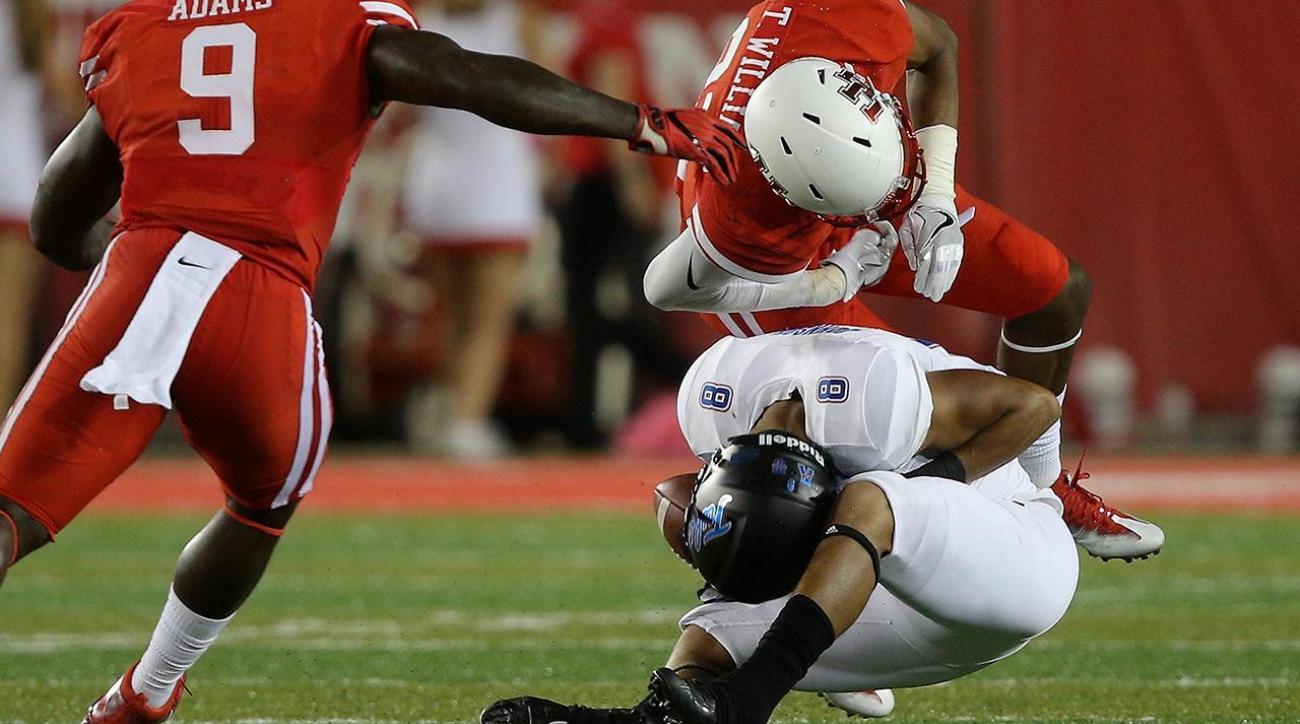 College football rules committee may tweak targeting penalty