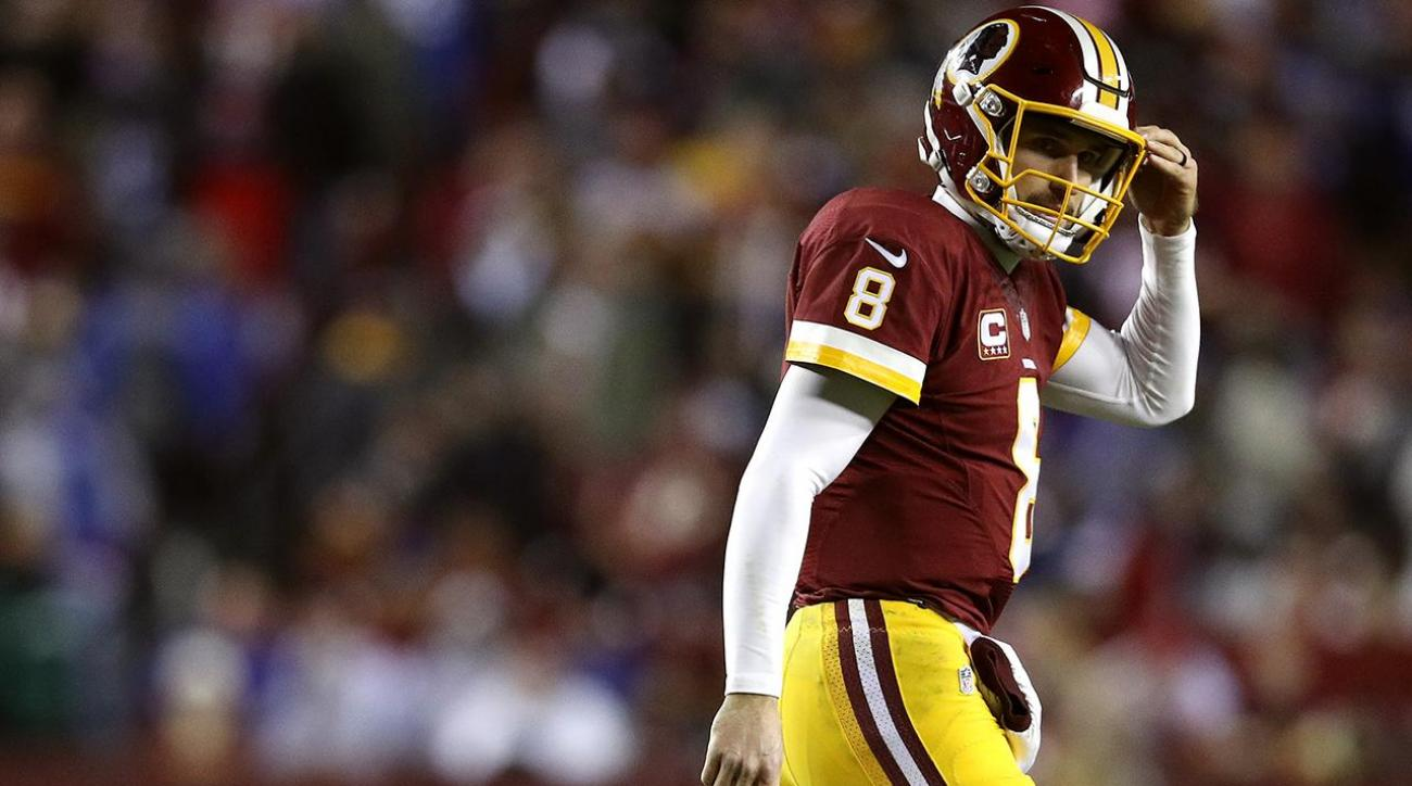 Report: Kirk Cousins asked Dan Snyder to trade him