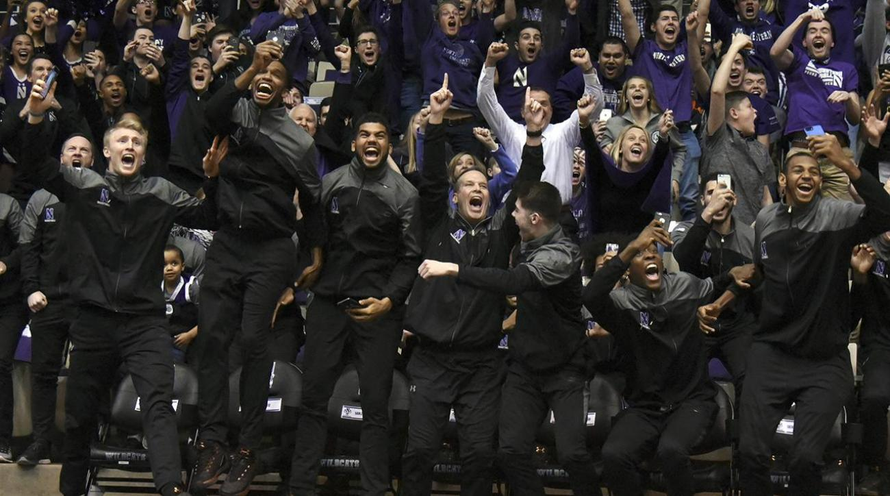 Northwestern makes NCAA Tournament for the first time in program history