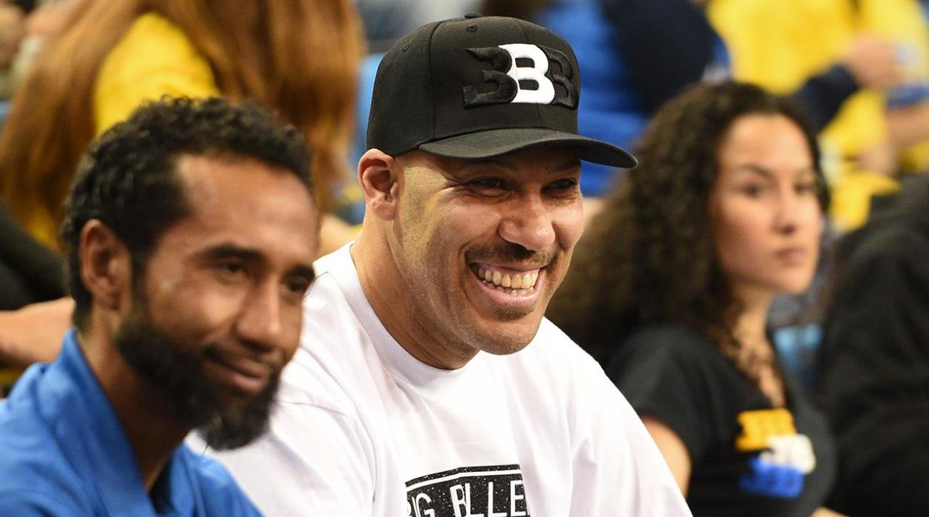 Lonzo Ball's father LaVar makes big claims about his son
