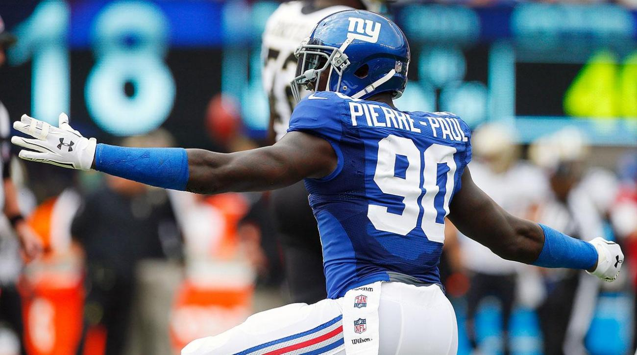 Jason Pierre-Paul signs long-term deal with Giants