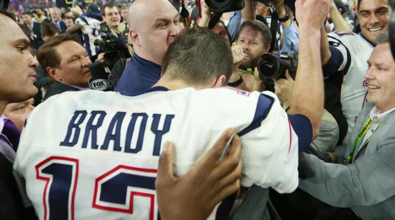 VIDEO - Super Bowl LI  Tom Brady s missing jersey found  87cdcaa34