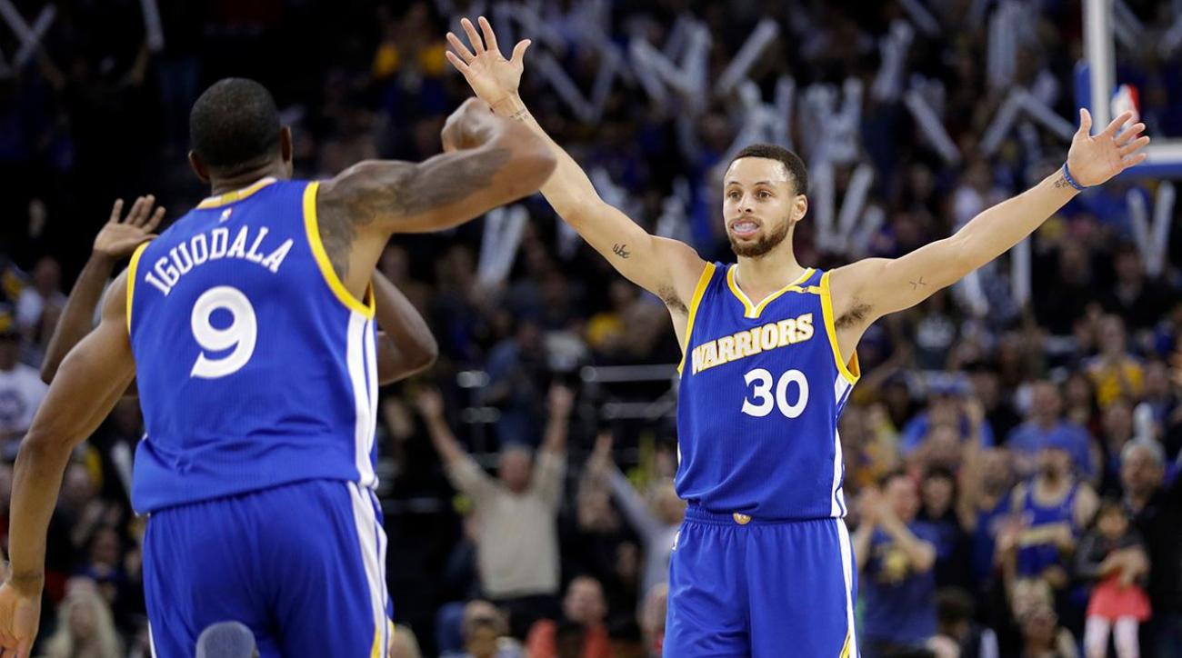 NBA Power Rankings: Warriors surging ahead of playoffs