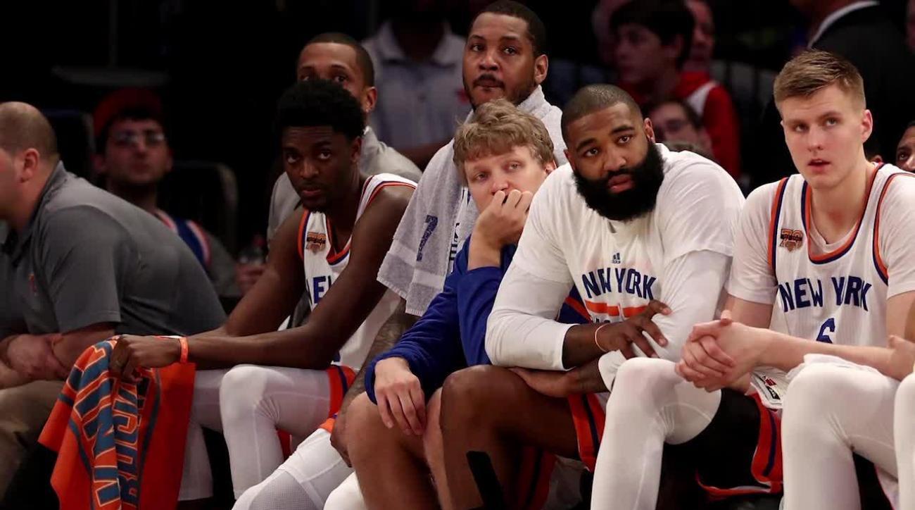 Scottie Pippen thinks the Knicks should let Phil Jackson go