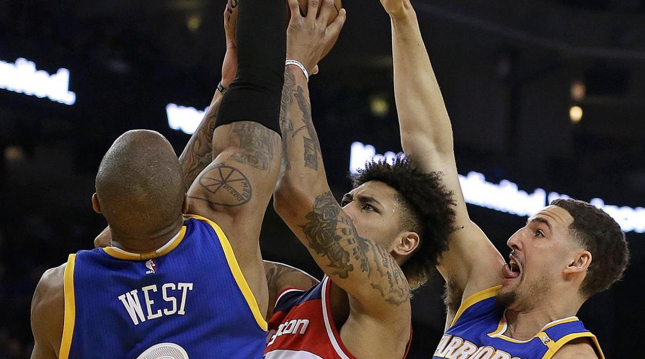Wizards say Warriors 'disrespectful' at the end of blowout