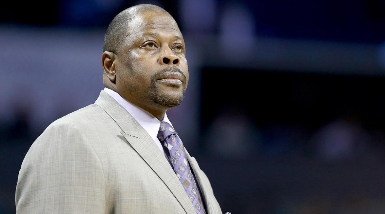 Georgetown hires Patrick Ewing as next head coach