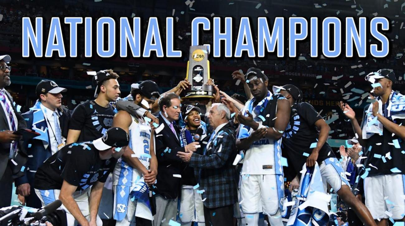 North Carolina beats Gonzaga for sixth national championship