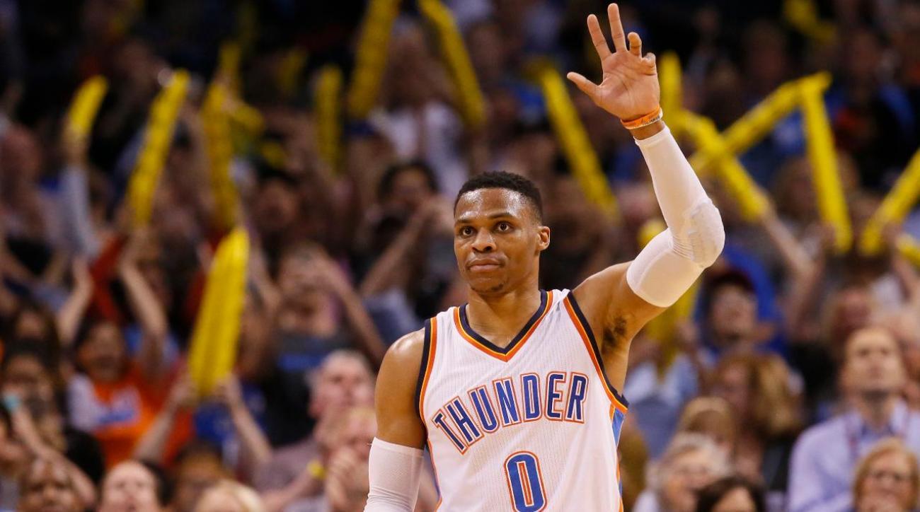 Russell Westbrook ties Oscar Robertson's single-season triple-doubles record
