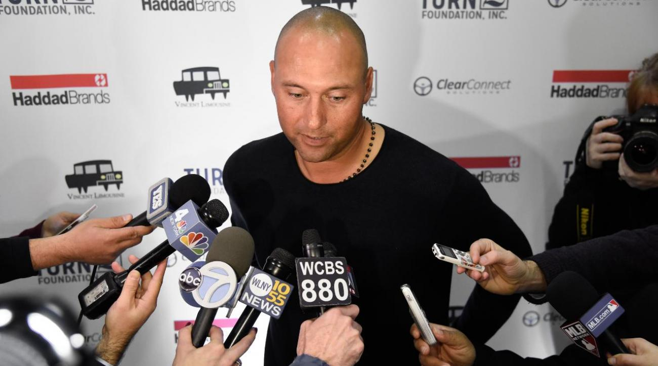 Report: Derek Jeter among those interested in purchasing Miami Marlins