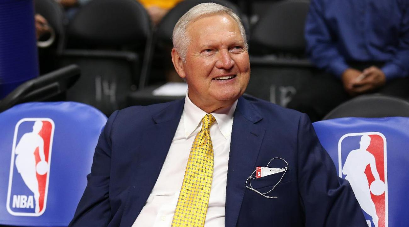 Jerry West wishes the NBA would change its logo