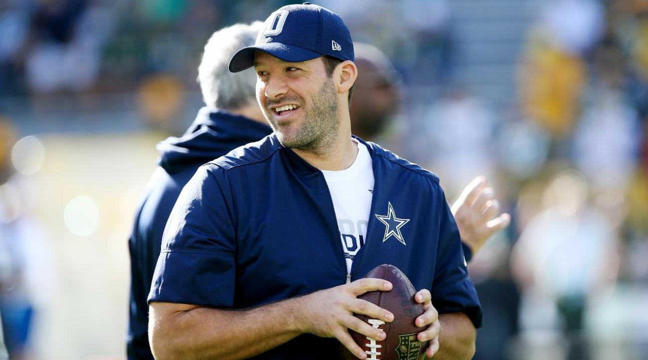 Report: Mavericks will honor Tony Romo, former QB will suit up one last time IMAGE