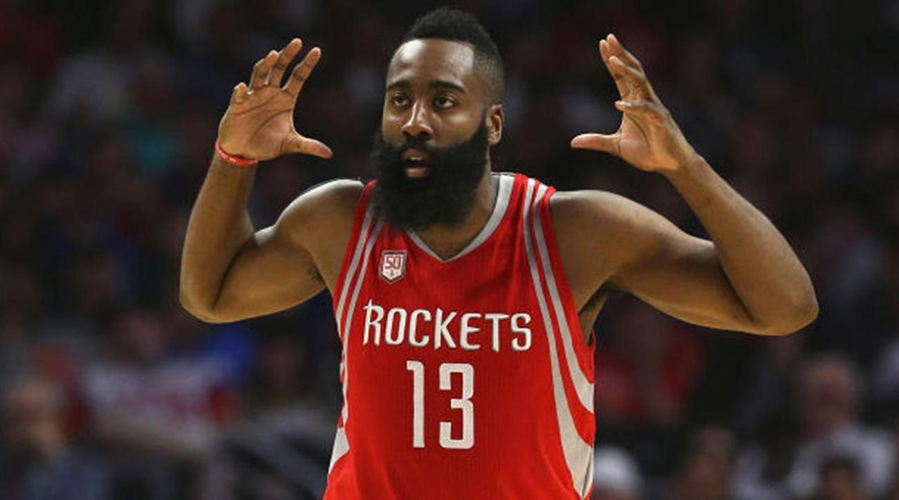 570f38113e4 VIDEO - James Harden s HS coach not suprised by his stance on rest ...
