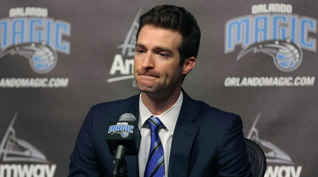 Magic fire GM Rob Hennigan, reportedly eye Grant Hill as president of basketball operations