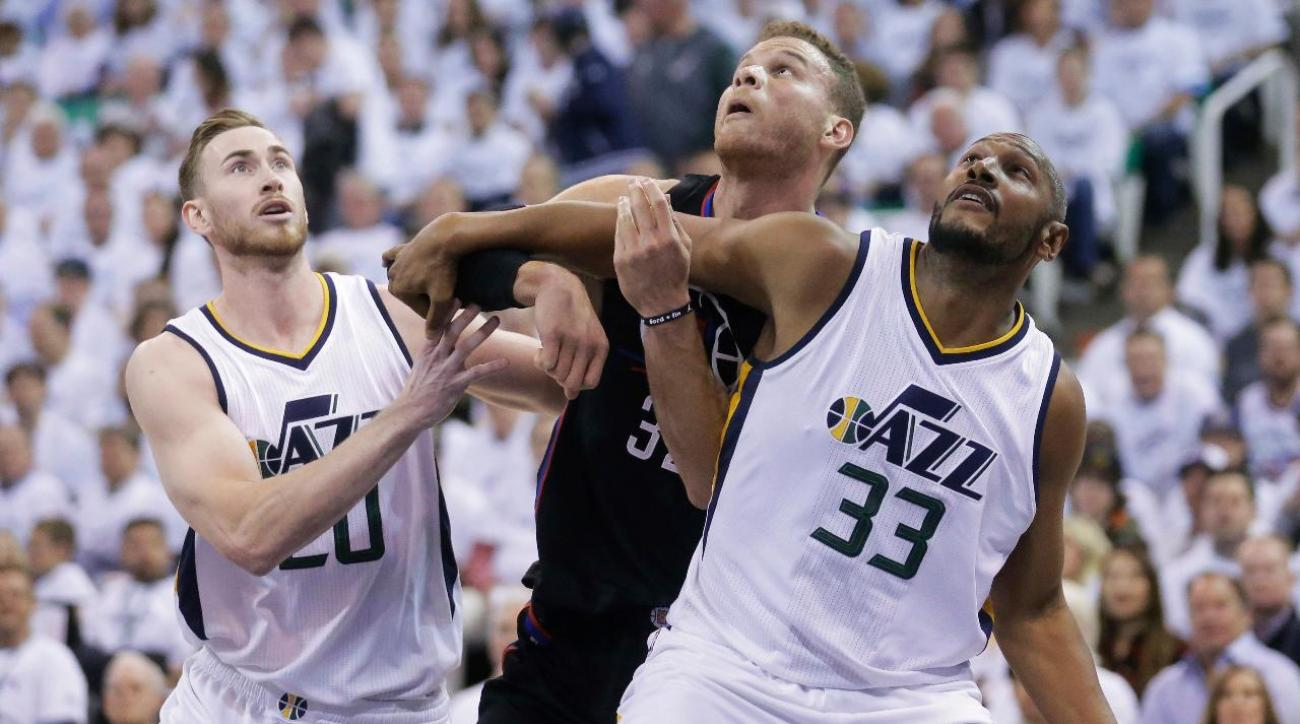 Jazz C Gobert (knee) upgraded to questionable for Game 4