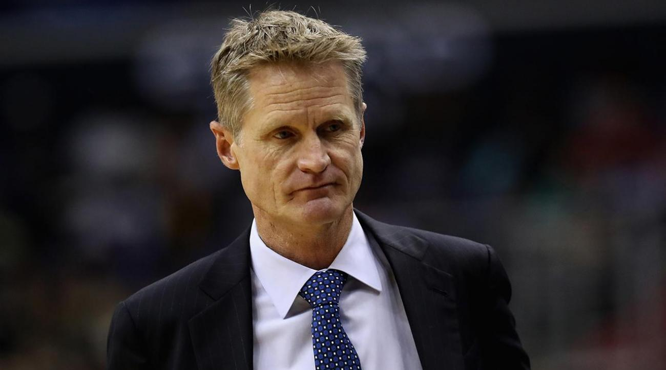 Warriors coach Kerr may miss rest of postseason