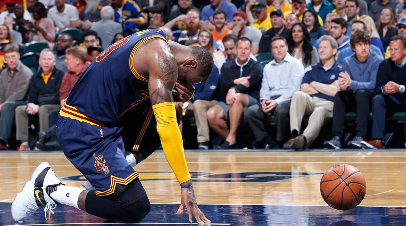 Lebron's heroics lead Cavaliers to sweep of Pacers
