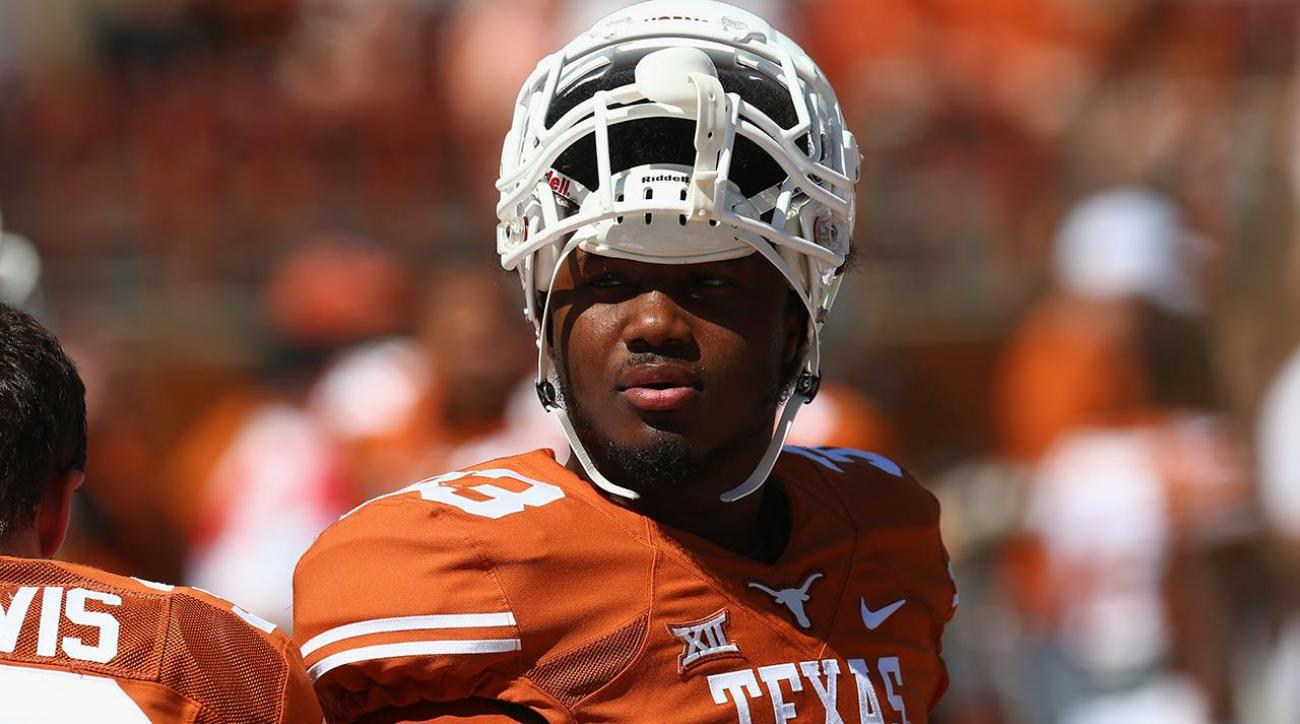 Former Texas RB D'Onta Foreman reveals he lost infant son during season IMAGE