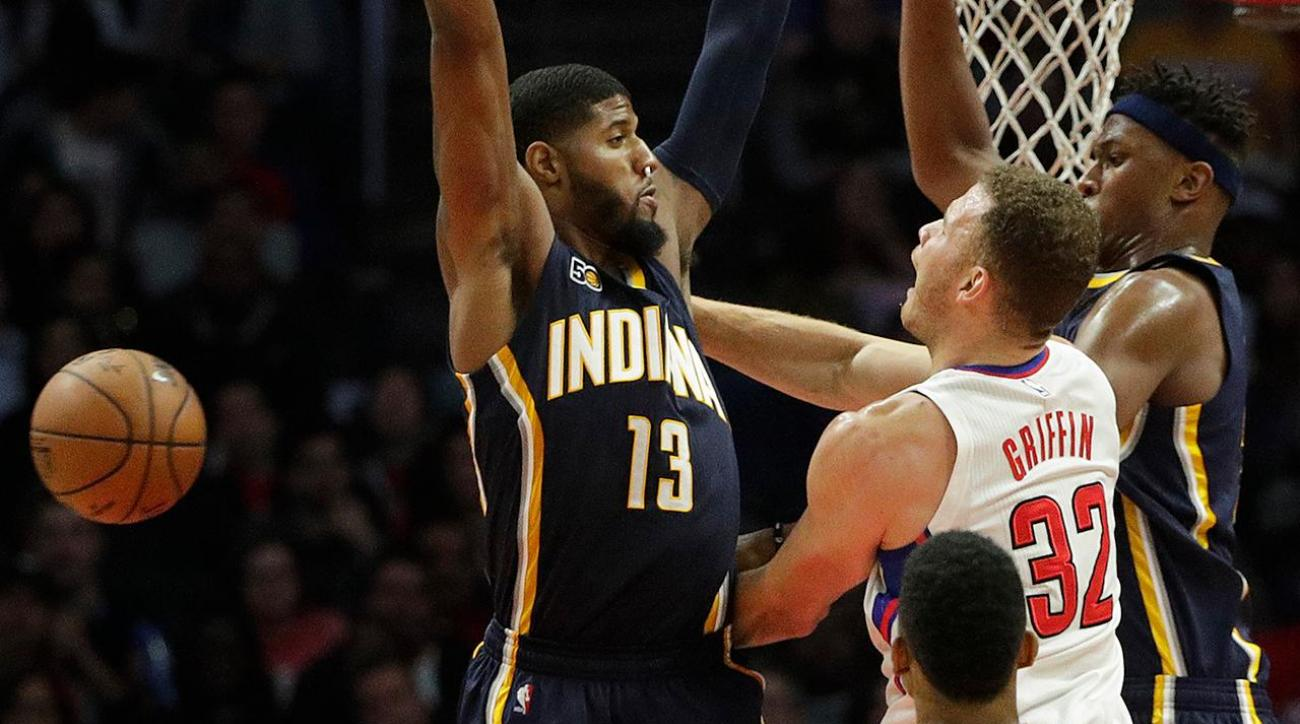 Paul George and Blake Griffin set for uncertain futures IMG