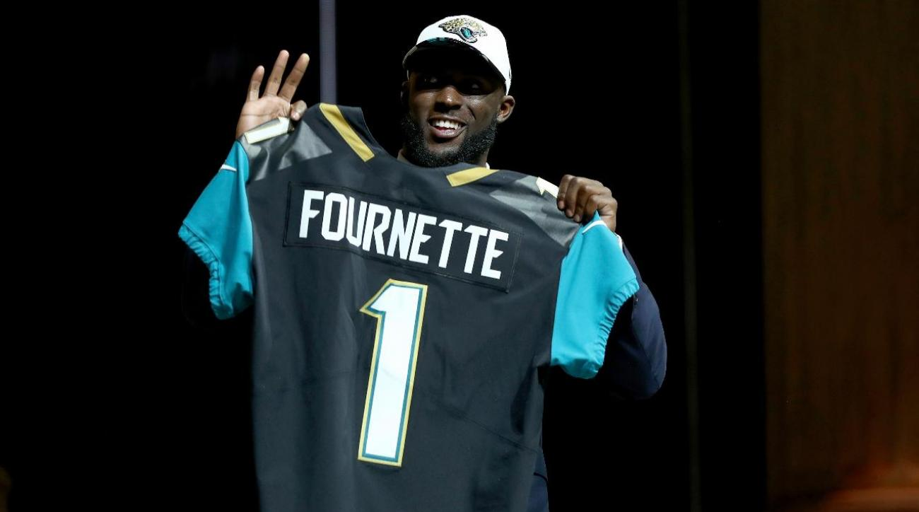 Jaguars improve offense by selecting Leonard Fournette with No. 4 pick IMAGE
