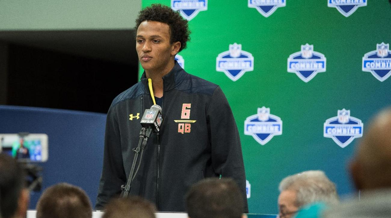 The Browns select their quarterback, DeShone Kizer